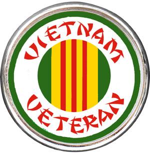 Vietnam Vet Car Emblem Car Emblems Auto Emblems Tow