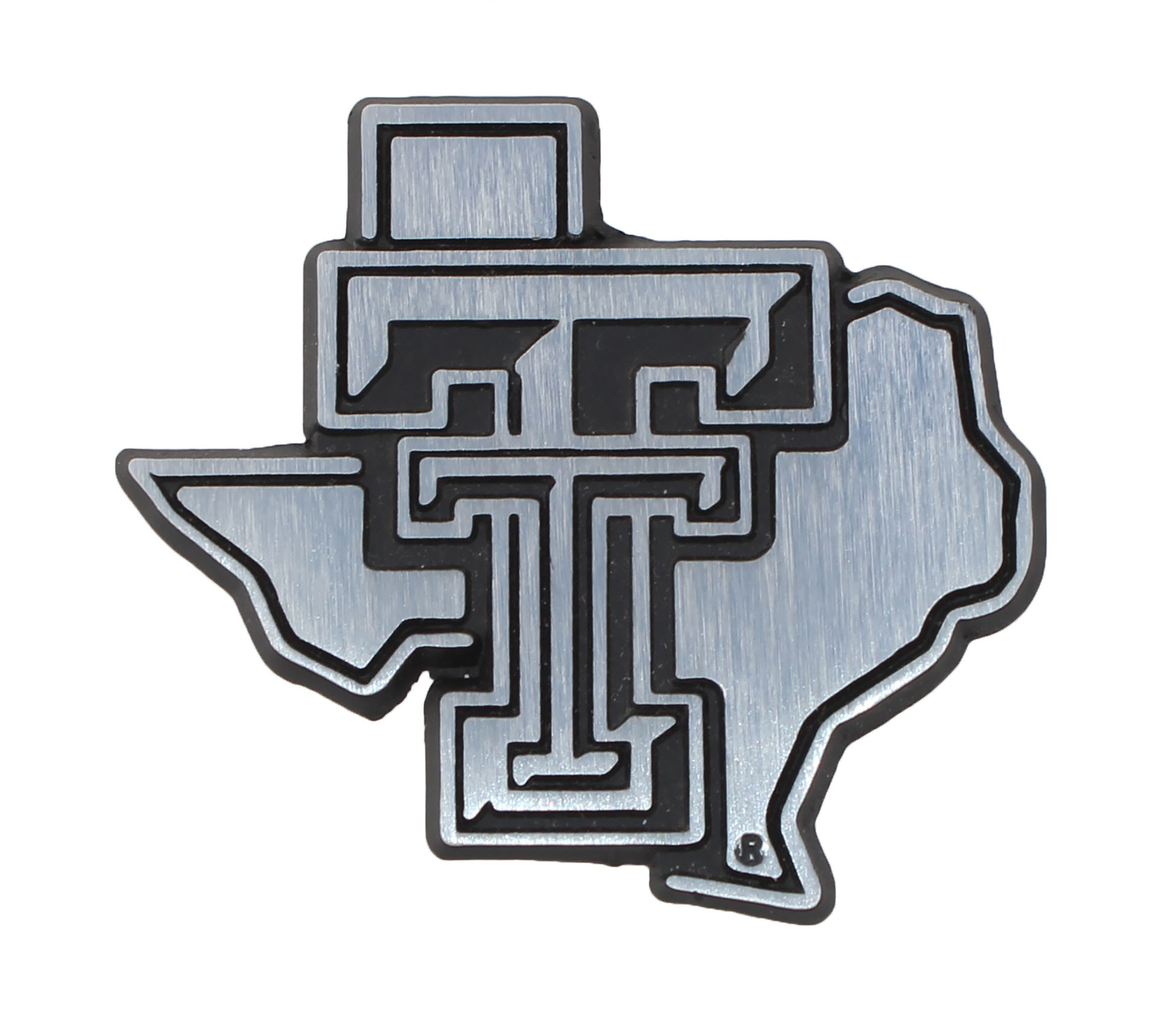 State Of Texas Tech Metal Auto Emblem Car Emblems Auto Emblems