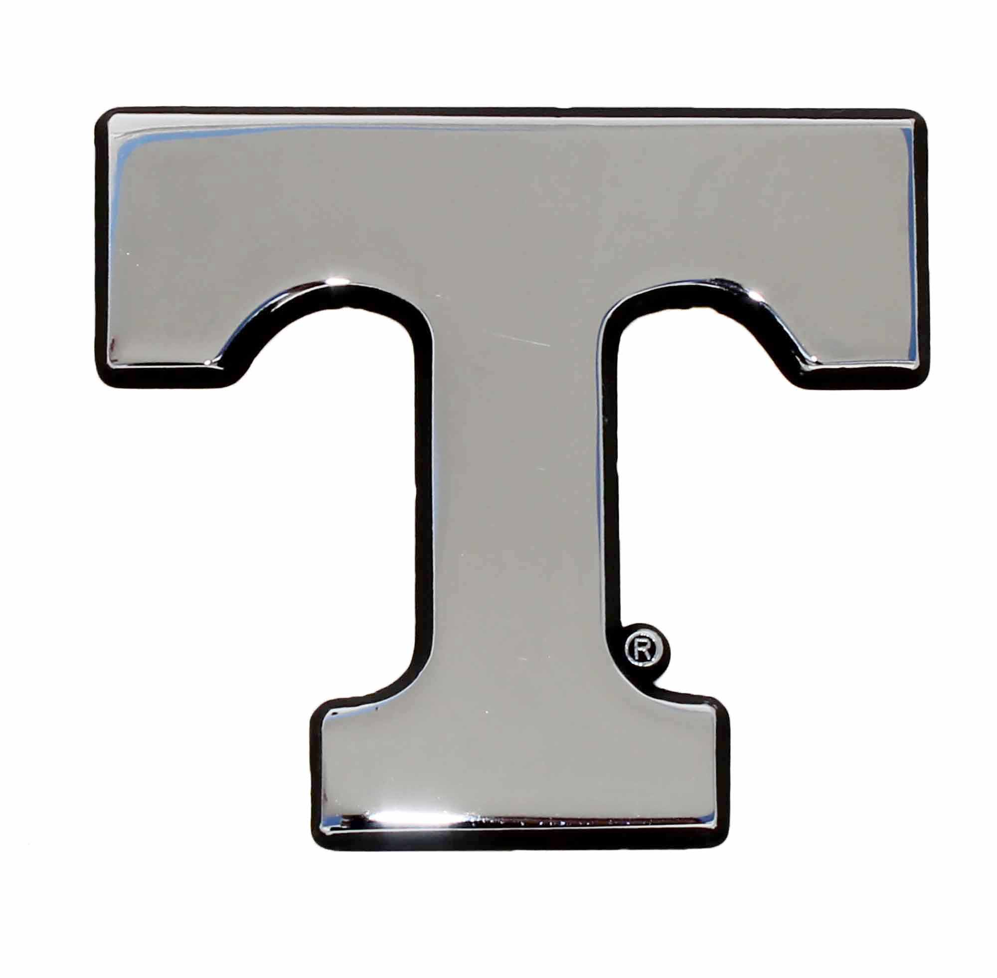 Tennessee orange METAL T emblem black METAL Hitch Cover AMG