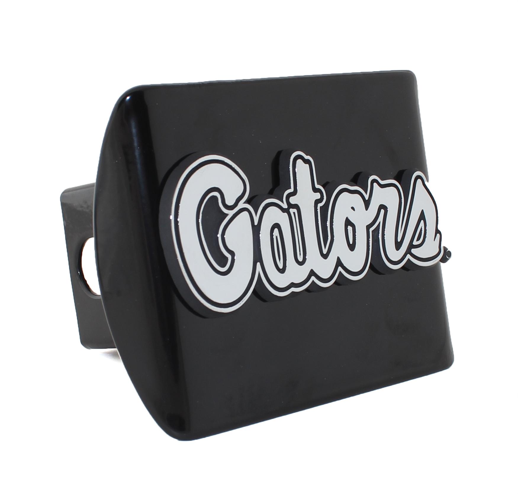 Florida Gators Black Metal Hitch Cover | Car Emblems | Auto Emblems
